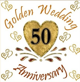 golden wedding anniversary
